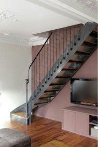 نرده راه پله درون منزل