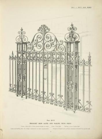 طراحی زیبا از درب فلزی
