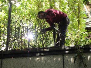 جوش کاری حفاظ شاخ گوزنی