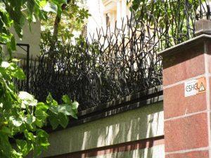 نرده شاخ گوزنی با تراکم بالا
